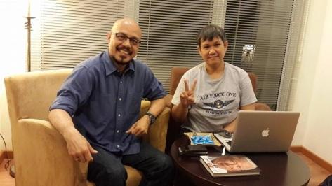 Bersama Andy F Noya, Juni 2014