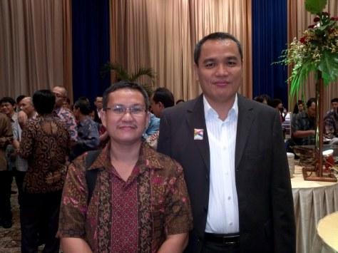 bersama Pak Lilik Oetama (Santika Group/Kompas Gramedia Group)