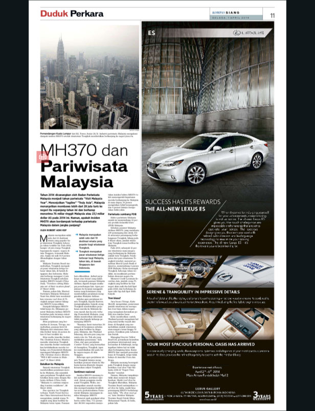 DUPER MH370 KSP