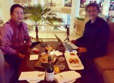 Bersama Bapak Tony Wenas, Oktober 2016