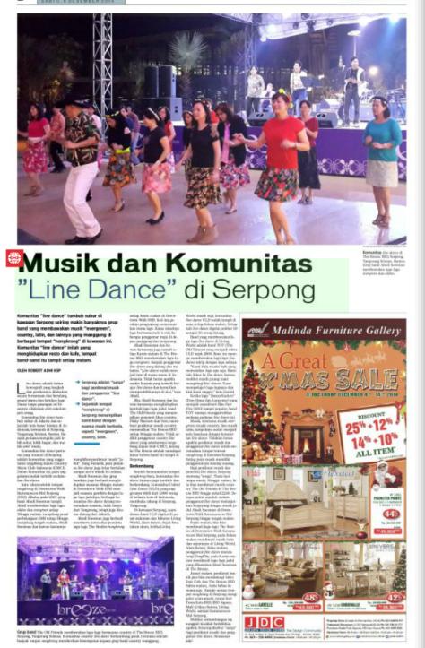Komunitas Line Dance