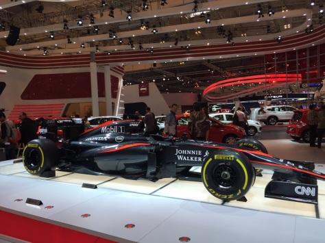 McLaren di gerai Honda di GIIAS 2015 FOTO: ROBERT ADHI KUSUMAPUTRA